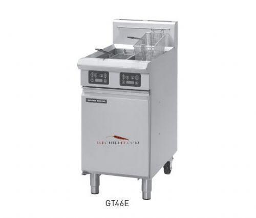 Blue Seal Evolution GT46E VEE Ray Twin Tank Gas Fryer